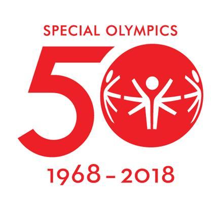 Special Olympics 50th anniversary logo