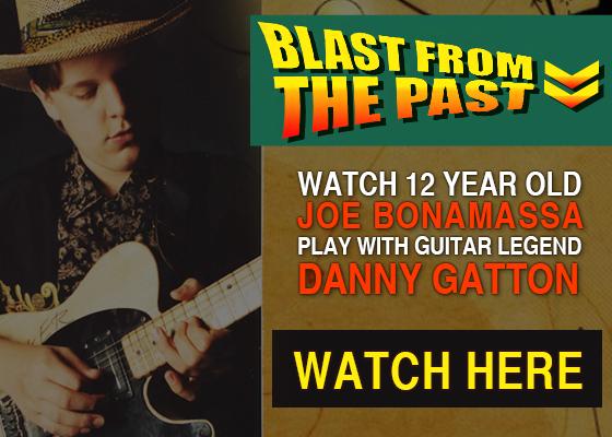 Blast From the Past: 12 year old Joe Bonamassa plays with Danny Gatton. Joe tells his experience. Watch it now