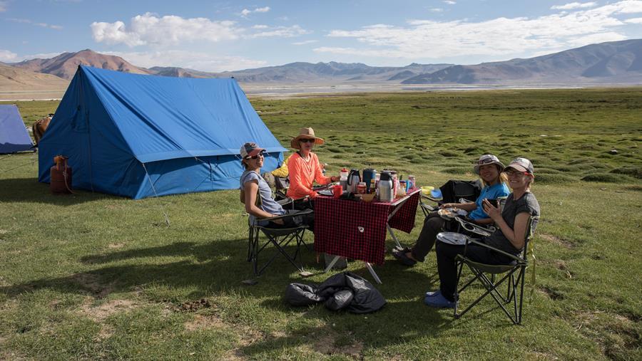 Our fav Phoksundo camp