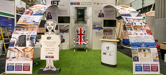 The IET Stand