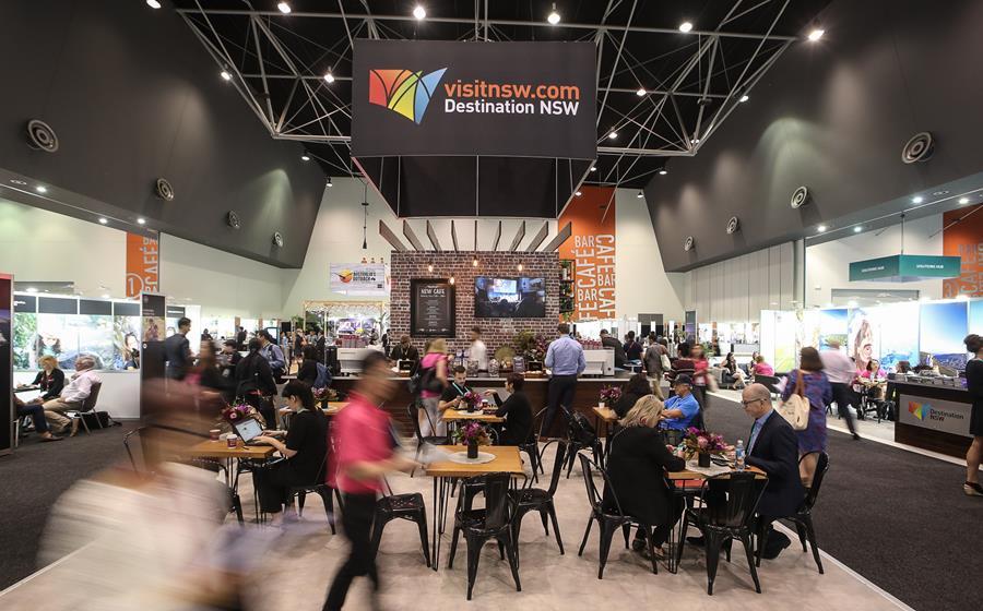 Destination NSW stall at Australian Tourism Exchange