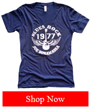 Joe Bonamassa Blue 1977 Vintage tee- Women
