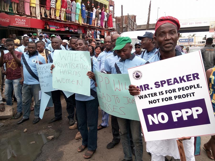 Letter to Lagos Governor - Don't privatize public water!