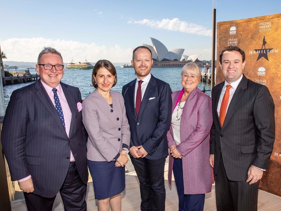Hamilton Sydney 2021 Announcement