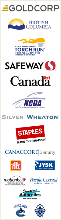 Special Olympics BC sponsors
