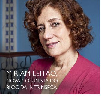 Mirian Leitão, noca colunista do Blog da Intrínseca