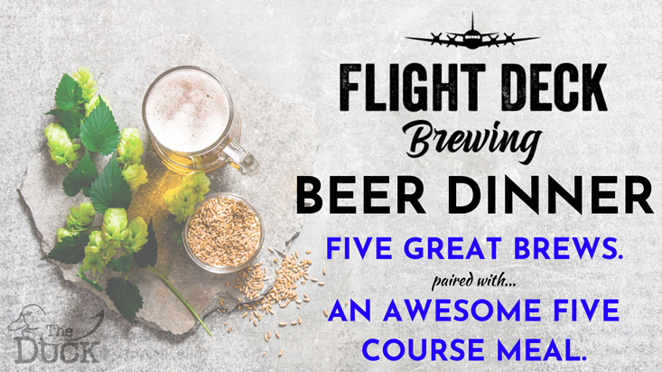 Flight Deck Beer Dinner