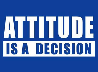 A question of attitude