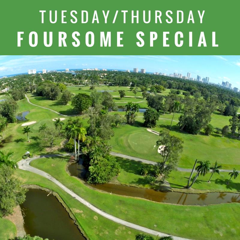 Tuesday/ Thursday Foursome Special