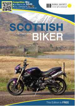Scottish Biker