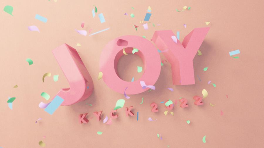 KYCK 2022: Joy Theme Graphic