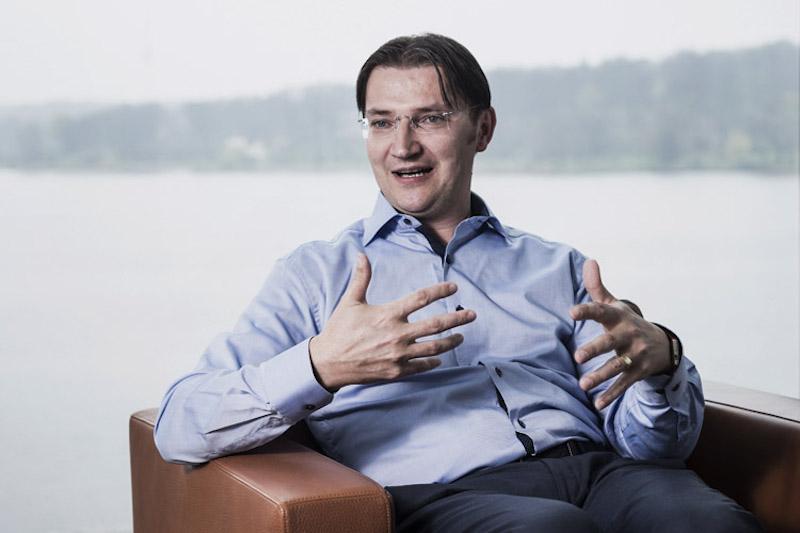 Johann Jungwirth is Chief Digital Officer at Volkswagen