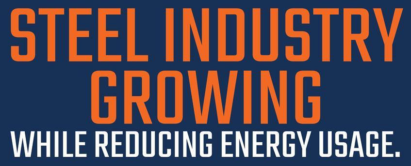 Steel Industry Growing with Reducing Energy Usage