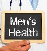 Men's Health Sign