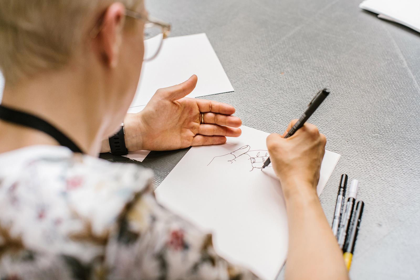 Drawing workshop TYPO 2017