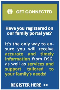 Register in our Family Portal