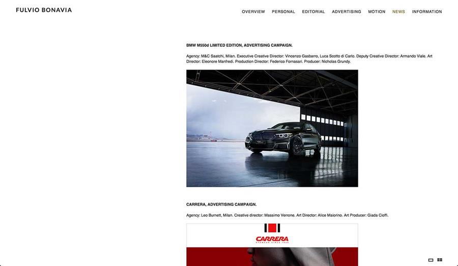 Fulvio Bonavia News Page