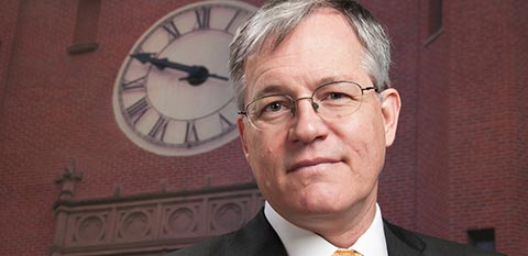President Chuck Staben portrait